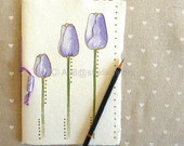 Sketch Book, Journal or Notebook with blank pages and original art cover