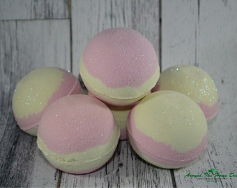 Mermaid Bath Bomb with Surprise Charm Inside!