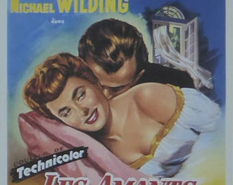 Under Capricorn (French) - Ingrid Bergman  - Movie Poster - Framed Picture 11 x 14