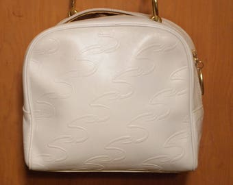 Beautiful Vintage Italian Scaasi Leather Purse - Perfect for Summer!