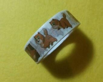 Cute kitty cat Washi Tape