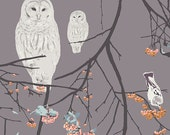 One Yard - 1 Yard of Bird Songs Sun - BLITHE by Katarina Roccella for Art Gallery