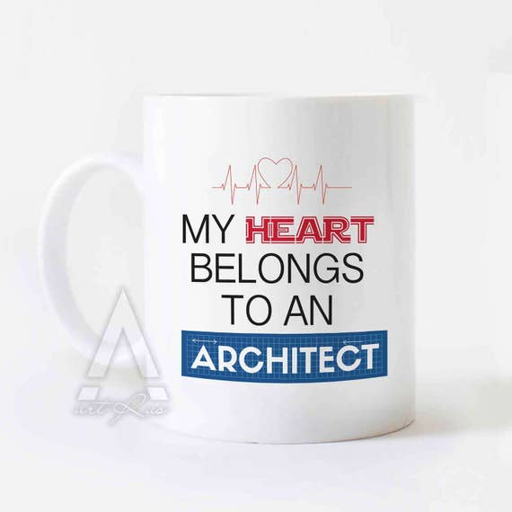 Christmas Gift For Architect My Heart Belongs To An