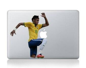 Macbook 13 inch decal sticker football single Apple art for Apple Laptop