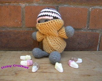 Inchoate Neapolitan Ice Cream Sweater and Hat crochet pattern