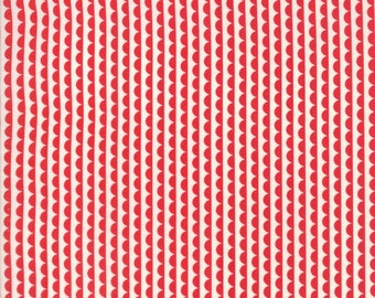 Basics - Ruby Sundae Red by Bonnie and Camille for Moda, 1/2 yard, 55037 31