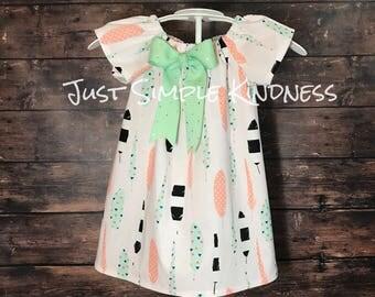 Girls Feather Dress, Girls Easter Dress, Girls Easter Outfit, Girls Dresses, Girls' Clothing, Girls Summer Dress, Girls Spring Dress, Boho