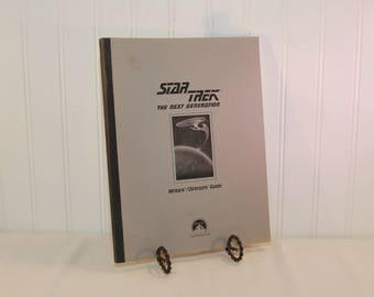 Vintage Star Trek The Next Generation Writers'/Directors' Guide Special Edition (c. 1992-1993) Gene Roddenberry, Starship Enterprise