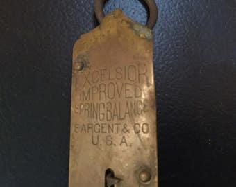 Vintage Excelsior Spring Balance scale