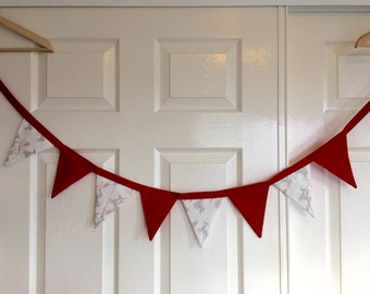 Christmas Bunting | Reindeer | Banner | Flags | Home and Living | HomeDecor | Christmas Decorations