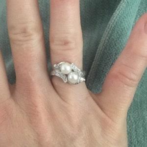 an antique 45 carat old european cut diamond engagement ring