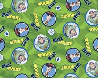 Springs Creative - Toy Story Woody Buzz Toss Green