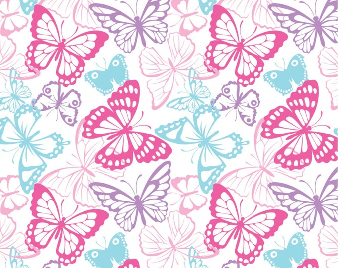 Springs Creative - Knit Prints - Butterfly Packed - Knit Prints