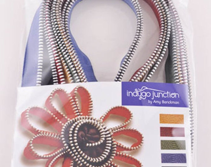 Z101 Zipper Accents - Vintage, by Indygo Junction