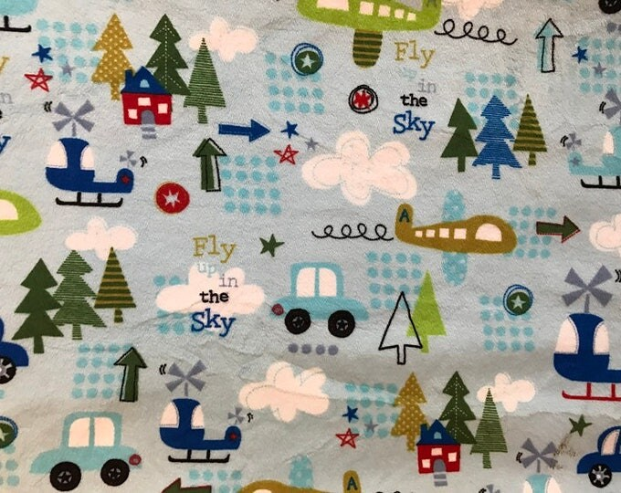 "Up In The Air - 21""x 58/60"" - Cuddle/Minky"
