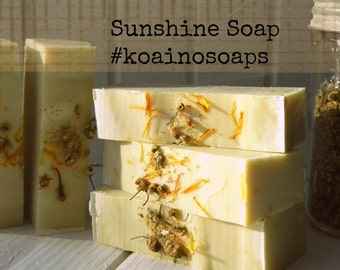 Sunshine all natural handmade soap