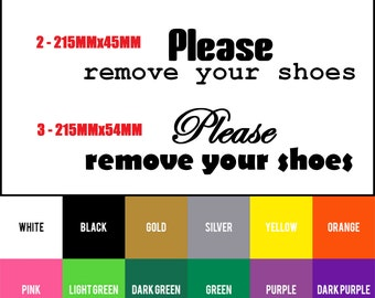 Shoe Vinyl Decal Etsy - Custom vinyl sign stickers   removal options