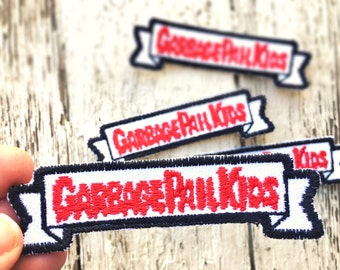 Garbage Pail Kids Logo Embroidered Patch