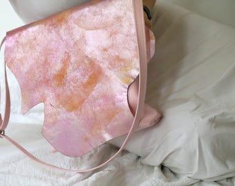 """Leather bag """"Bubble Gum"""""""