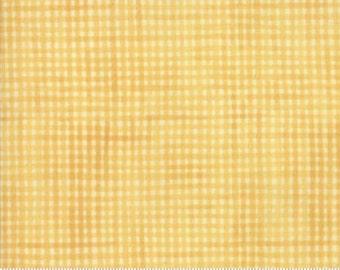 Garden Notes - Picnic Plaid Yellow 609615 - 1/2yd