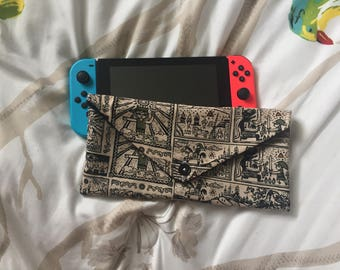 Nintendo Switch Case ~ Black Legend of Zelda