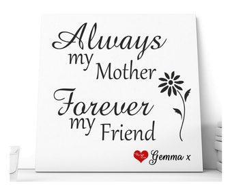 Mum Message Personalised Ceramic Plaque