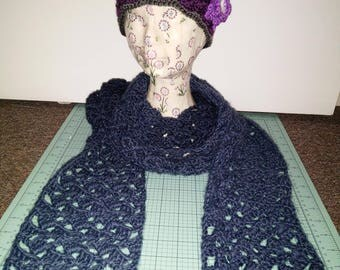 Lightweight Crocheted Scarf