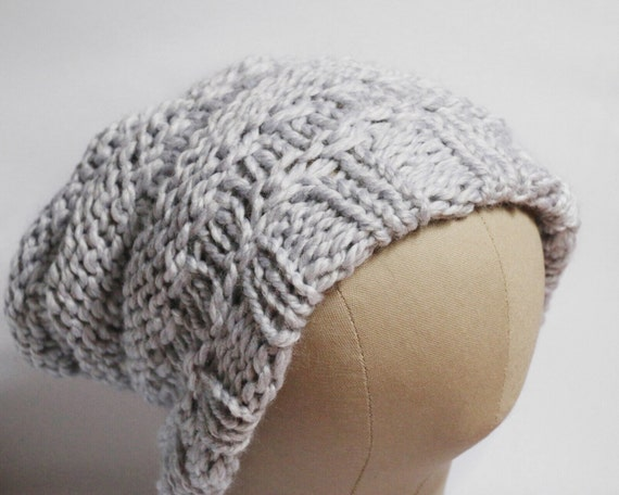 """Satin Lined Knitted Beanie // Style // The """"Bees Knees"""""""