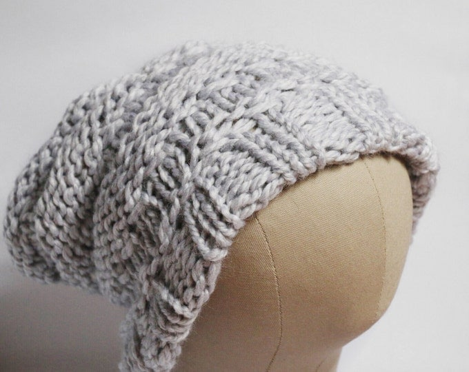 Satin Lined Knitted Beanie // Style // The Bee's Knees