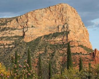 "Print of  ""Majestic Canyon"", Landscape Photography, Canyons, Arizona, Fine Art Photography, Nature Tones, Sedona, Free Shipping, Evergreen"
