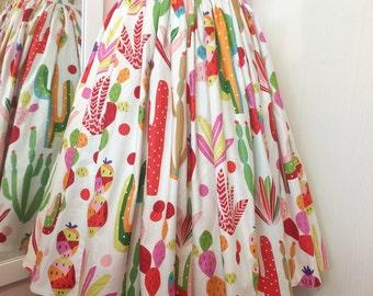 Cactus skirt