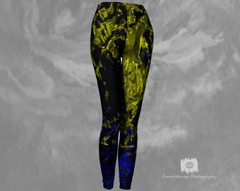 Premium Leggings Printed Leggings Tight Leggings Yoga Leggings Workout Leggings Compression Leggings Fitness Leggings Black Art Leggings