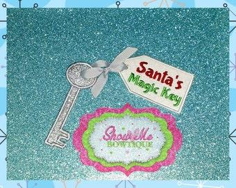 Santa's Magic Key ITH Machine embroidery Design