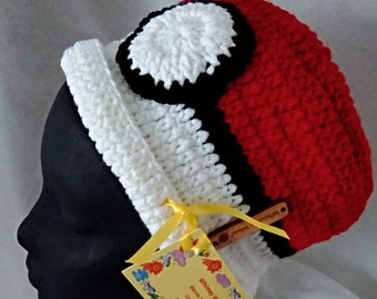 Pokeman Imitation - Collector's Hat - Red