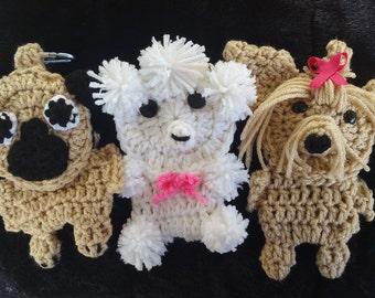 Crochet Dog Poop Bag Holder