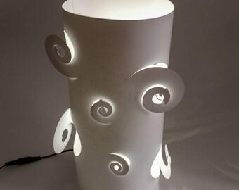 Lamp - Spiral - DIY Paper Craft Kit