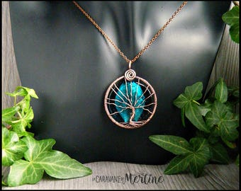 Tree of Life, Vintage copper