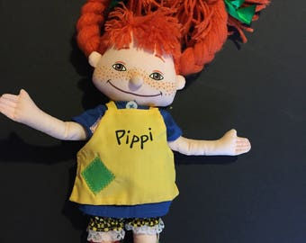 Pippi Longstocking Rag Doll