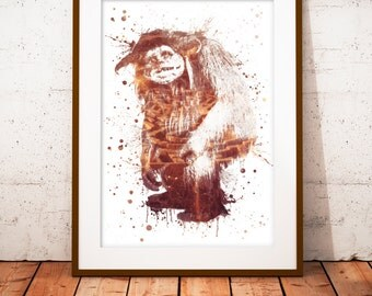 Labyrinth Ludo - limited edition print 210 x 297 mm, numbered and signed