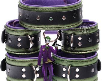 Joker Leather Submissive BDSM Set
