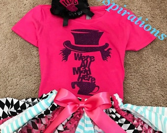 Alice-Alice In Wonderland-Are you Mad-Mad Hatter-Disney-Disney Movies-Disney Characters-Alice-Queen Of Hearts-Mini Mad Hatter Hats-Disneylan