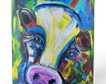 Cow in Full Color Mug