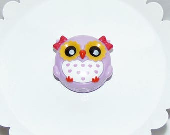 Cute Purple Owl Lip Gloss... Its a Hoot!!
