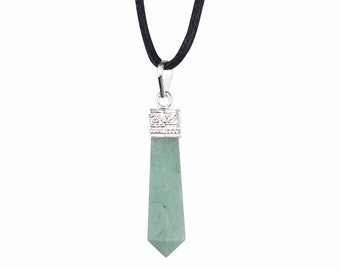 Lucky Jade Pendulum Pendant