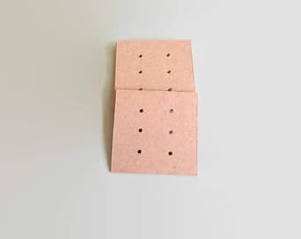 Card Earring Holder, Earring Display Card, Jewelry Display Card, Earring Cards, Card Supplies, Kraft Card Earring Display, Jewellery Display