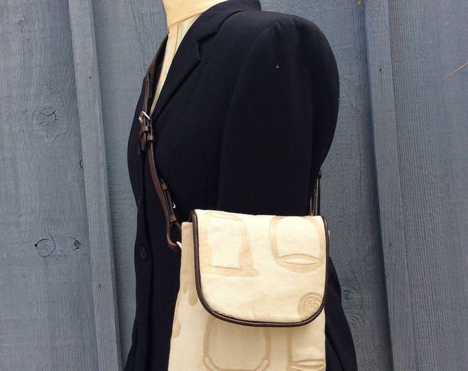 Ralph Lauren Fabric Equestrian Horse Purse Handbag