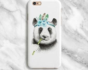 Panda iPhone 7 Case, iPhone 7 Plus Case, iPhone 6s Case, iPhone 6s Plus Case, iPhone 6 Case, iPhone 6 Plus Case, iPhone 5s Case, 016
