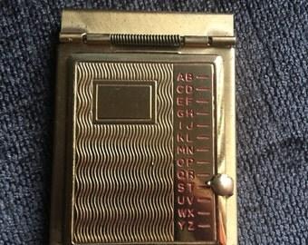 Vintage Miniature Rolodex