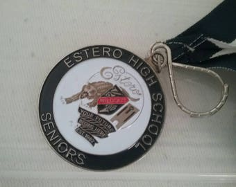 Estero high school seniors metal and ribbon