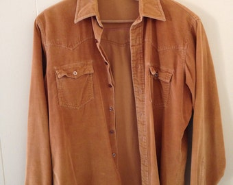 Sportswear by Country Touch Corduroy Shirt Size M